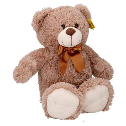 Sunkid Knuffel - Knuffelbeer - Teddybeer 54cm met strik - Grullo
