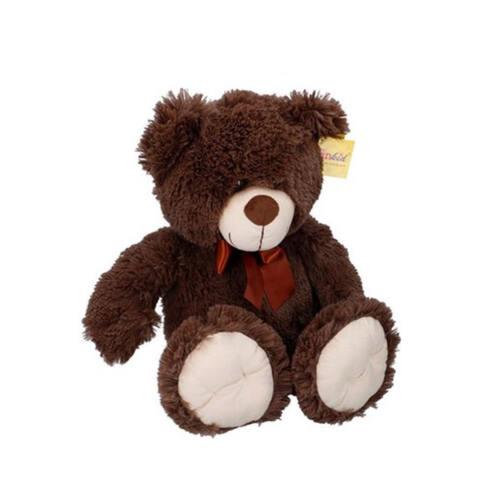 Sunkid Knuffel - Knuffelbeer - Teddybeer 54cm met strik - Omber