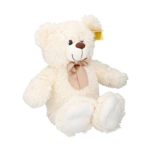 Sunkid Knuffel - Knuffelbeer - Teddybeer 54cm met strik - Timber