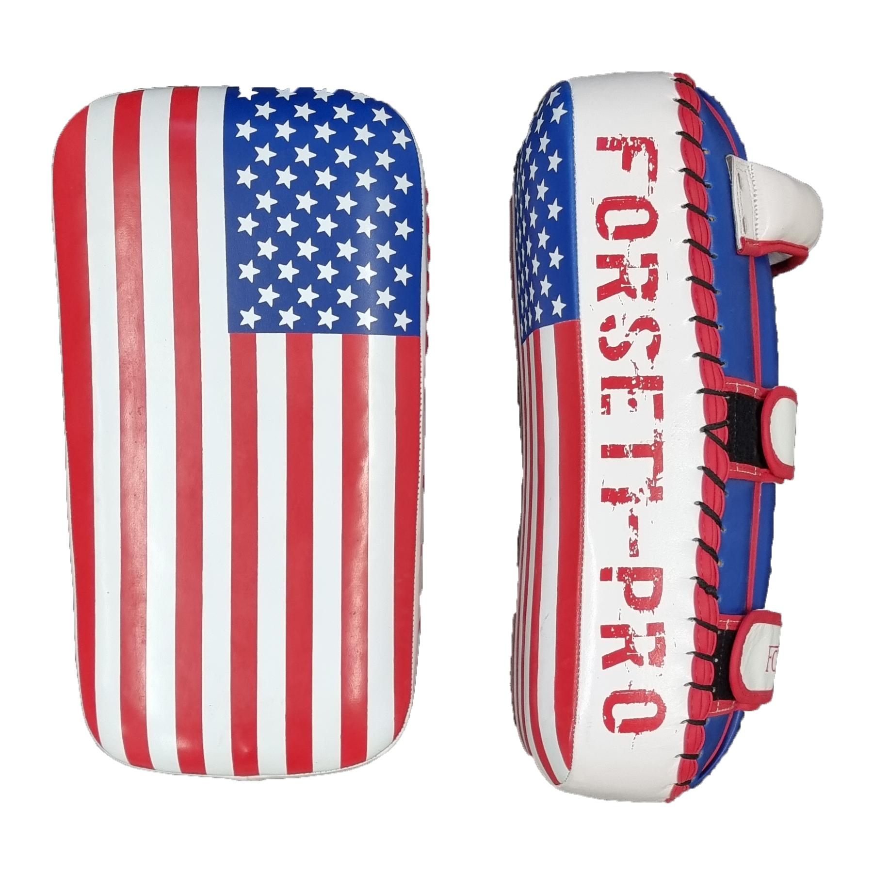 Forseti Pro Armpad - Kunstleer -  USA Flag - Set van 2