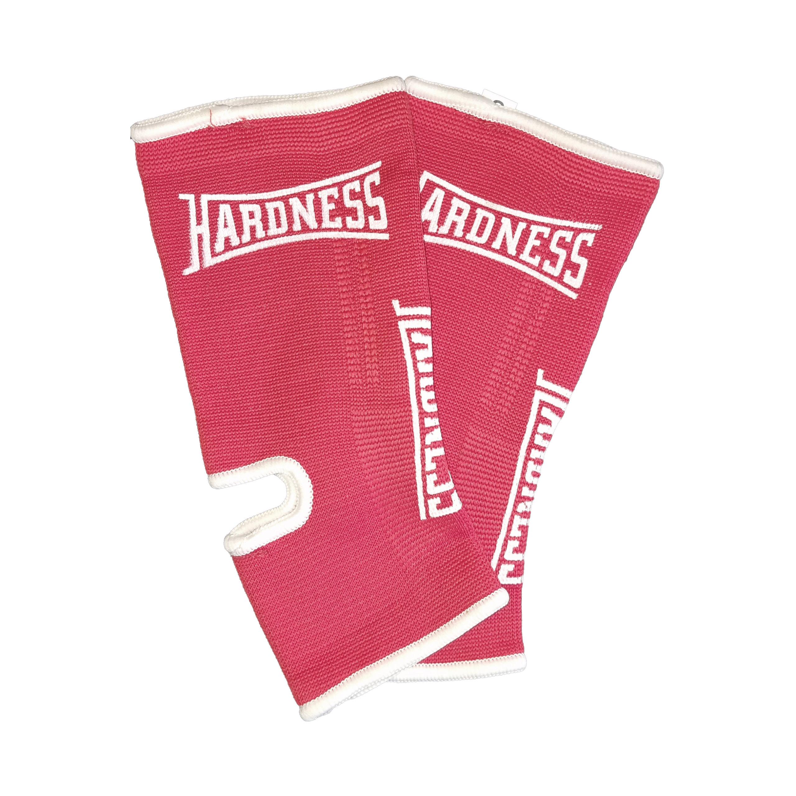 Hardness Enkelkousen B-Stock – Rood met wit 1