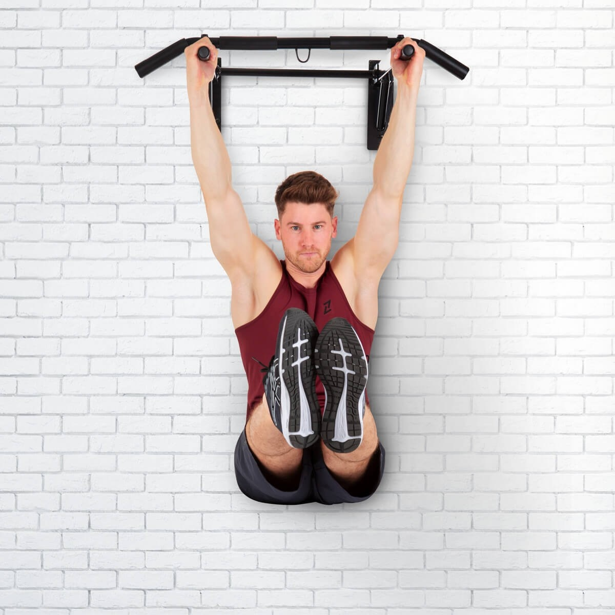 Hammer Optrekstang - met lifting hooks en push-up bars