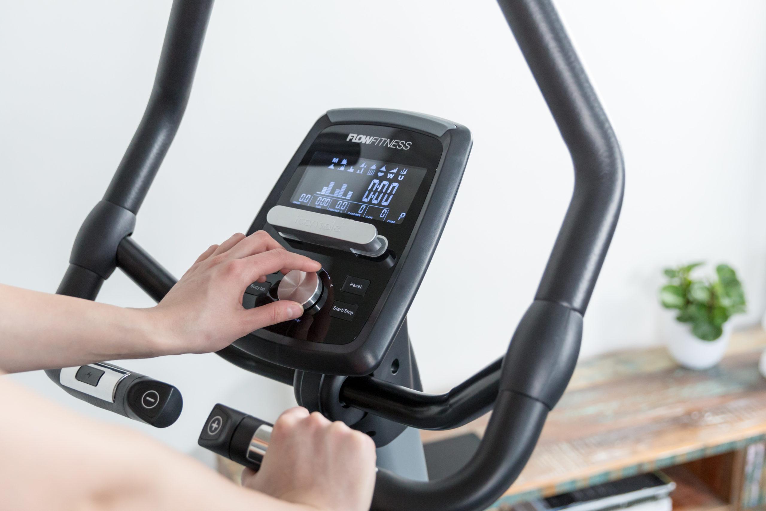 Flow Fitness Tabel Turner DHT2500i Hometrainer 23