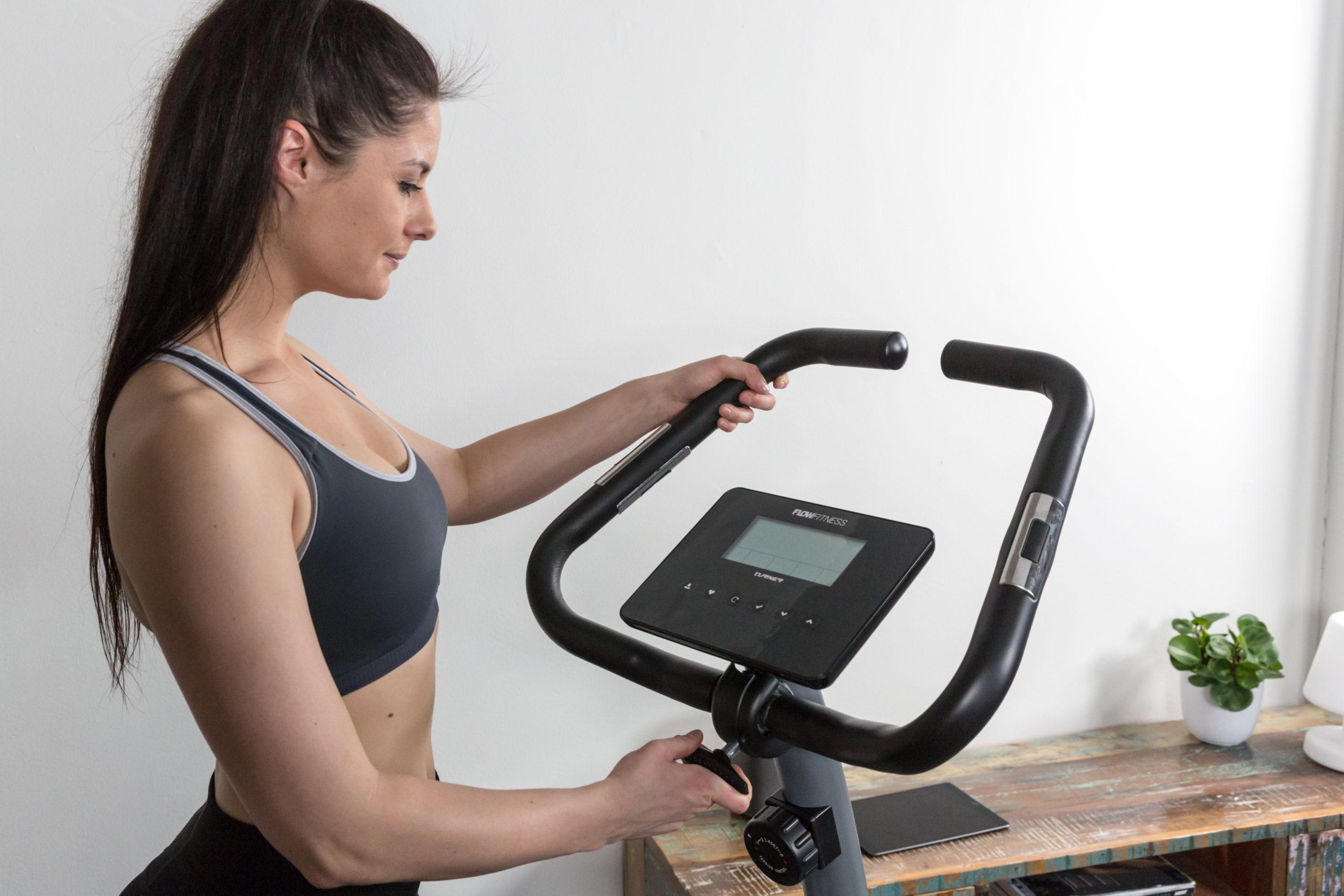 Flow Fitness Tabel Turner DHT500 Hometrainer 2