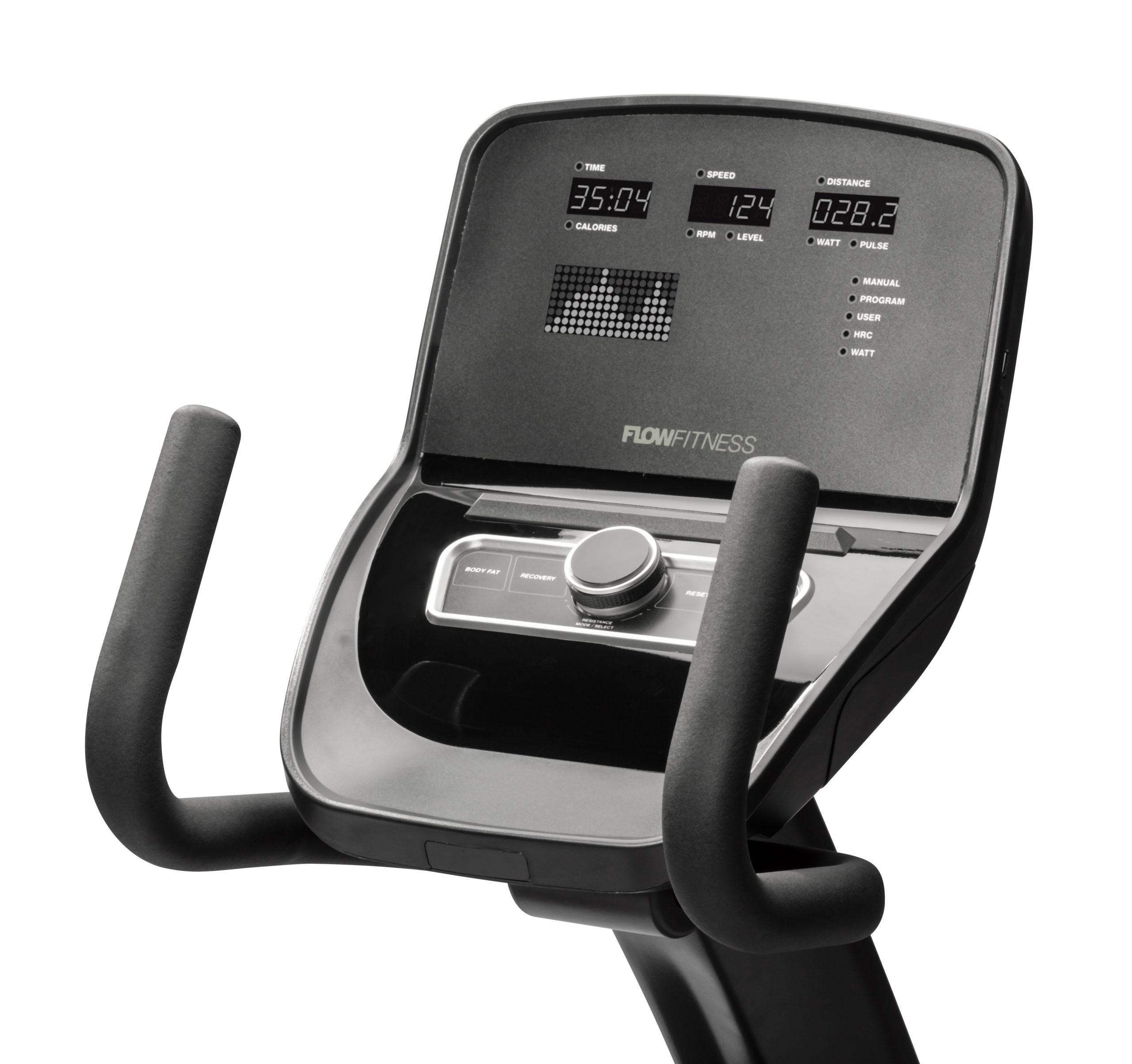 Flow Fitness Tabel PRO RB5i Recumbent bike 3