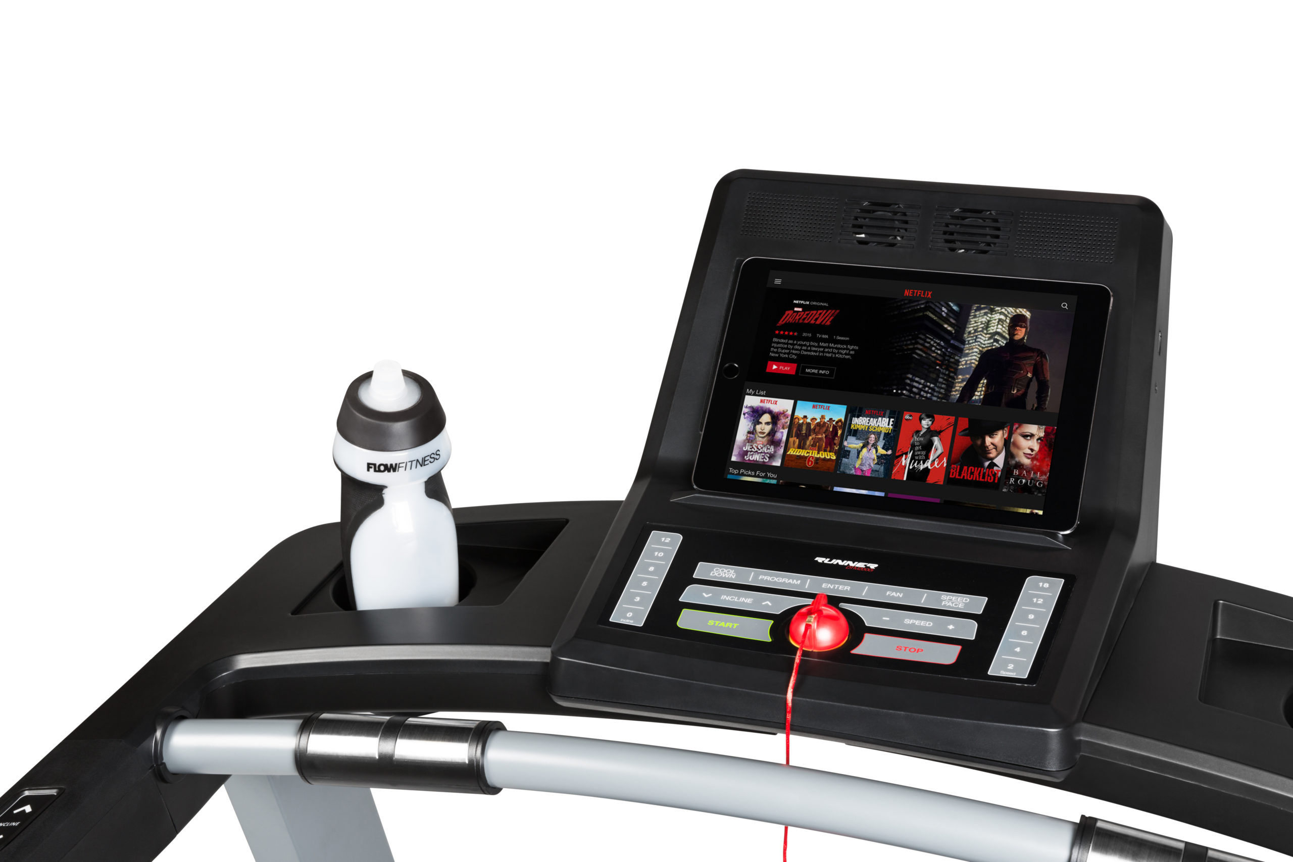 Flow Fitness Tabel Runner DTM2000i Loopband 7