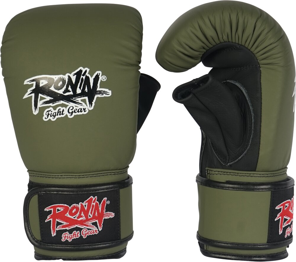 Ronin Pro Punch  Zakhandschoenen Leer - Army Green