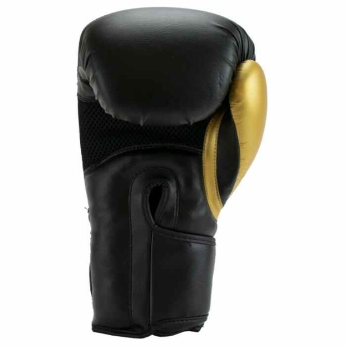 Super Pro Combat Gear ACE (kick)bokshandschoenen Zwart-Goud
