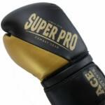 Super Pro Combat Gear ACE (kick)bokshandschoenen Zwart-Goud 8