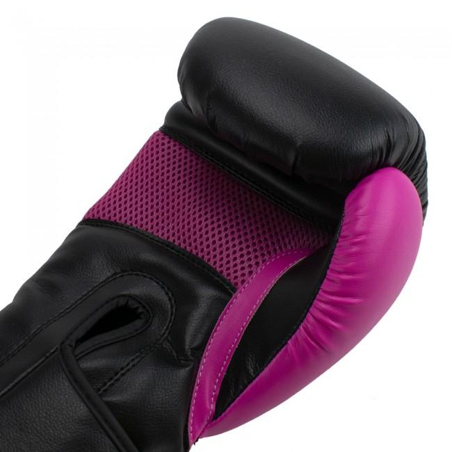 Super Pro Combat Gear ACE (kick)bokshandschoenen Zwart-Roze 6