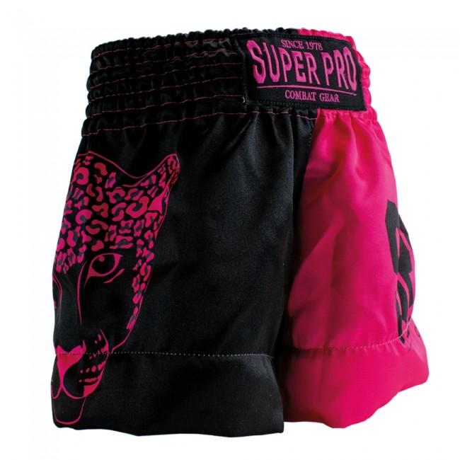 Super Pro (Thai)Boxingshort Kids Leopard