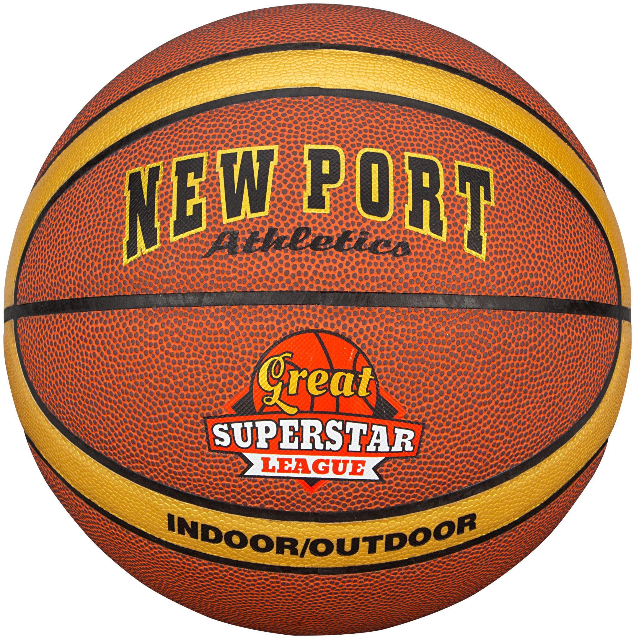 New Port Basketbal Gelamineerd - maat 7 - indoor en outdoor