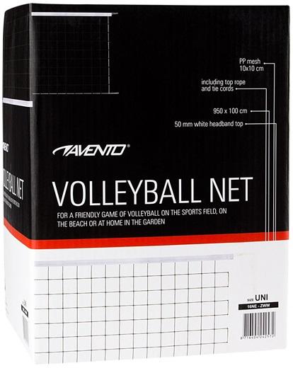 Avento Volleybalnet - 9,5 x 1 meter - 100% canvas