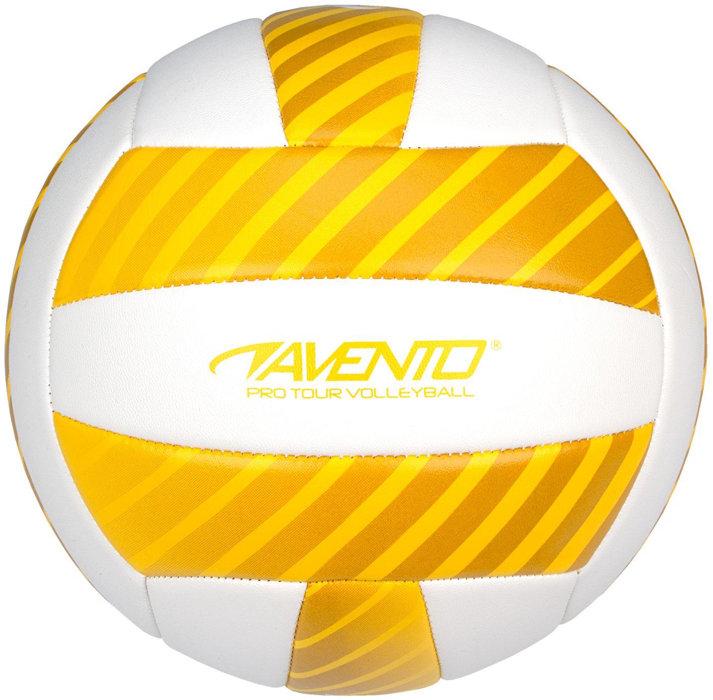 Avento (Beach)Volleybal – Maat 5 – Kusntleer – Geel 1