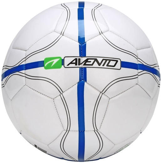 Avento League Defender II – Voetbal – Maat 5 – Wit met groen 1