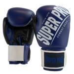 Super Pro Kickbokshandschoenen Rebel Blauw – Zwart – Wit 1