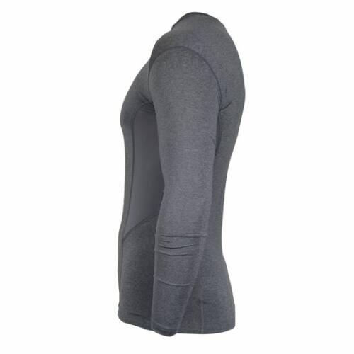 Donnay Heren - Compressie shirt lange mouw - Grijs gemeleerd
