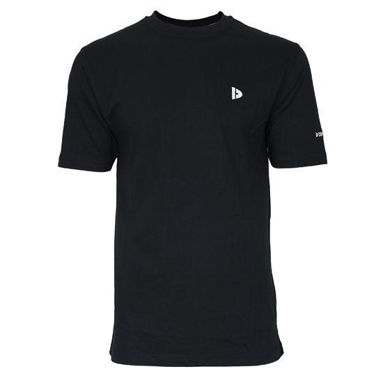 Donnay Heren - T-Shirt Vince - Zwart