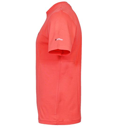 Donnay Heren - T-Shirt Vince - Perzik Oranje