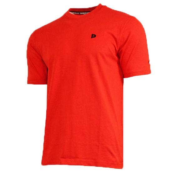 Donnay Heren - T-Shirt Vince - Vlamrood