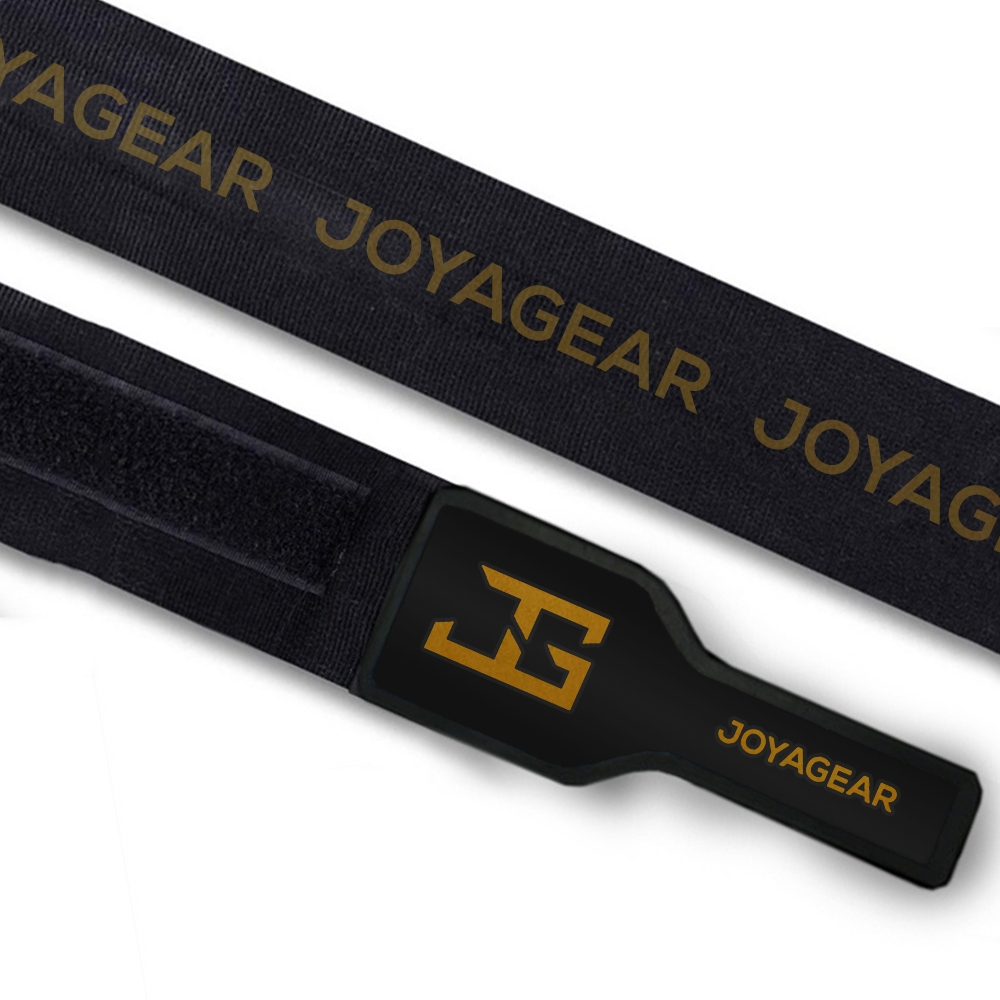 Joya Elasto Deluxe Bandages - 450cm - Zwart met goud