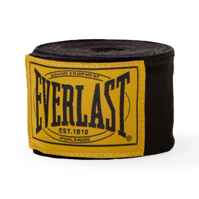 Everlast 1910 - Bandages - per paar - 460cm - Zwart