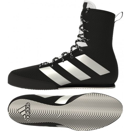 Adidas Boksschoenen Box-Hog 3 Zwart/Zilver/Wit