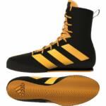 Adidas Boksschoenen Box-Hog 3 Zwart/Goud 1