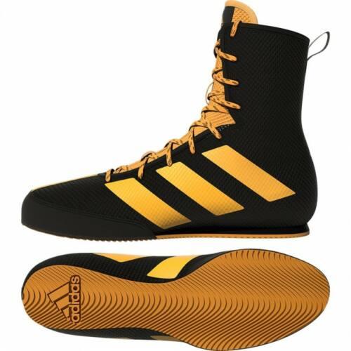 Adidas Boksschoenen Box-Hog 3 Zwart/Goud