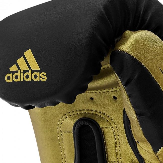 Adidas Bokshandschoenen Speed TILT 350V Pro Training Zwart/Goud