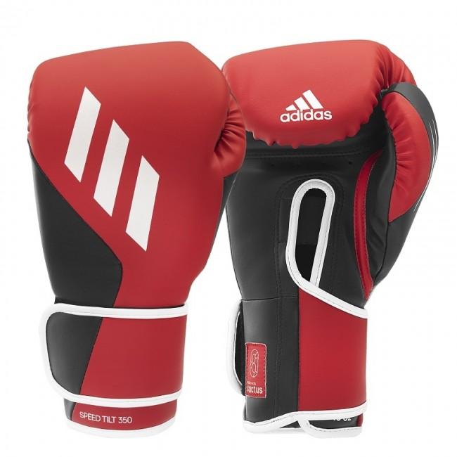 Adidas Bokshandschoenen Speed TILT 350V Pro Training Rood/Zwart