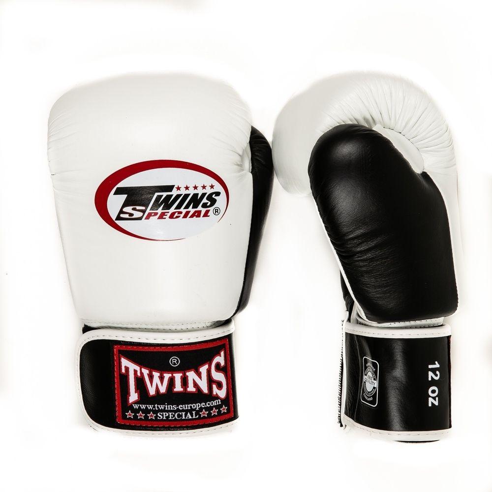 Twins BGVL 3 Bokshandschoenen - Wit met zwart