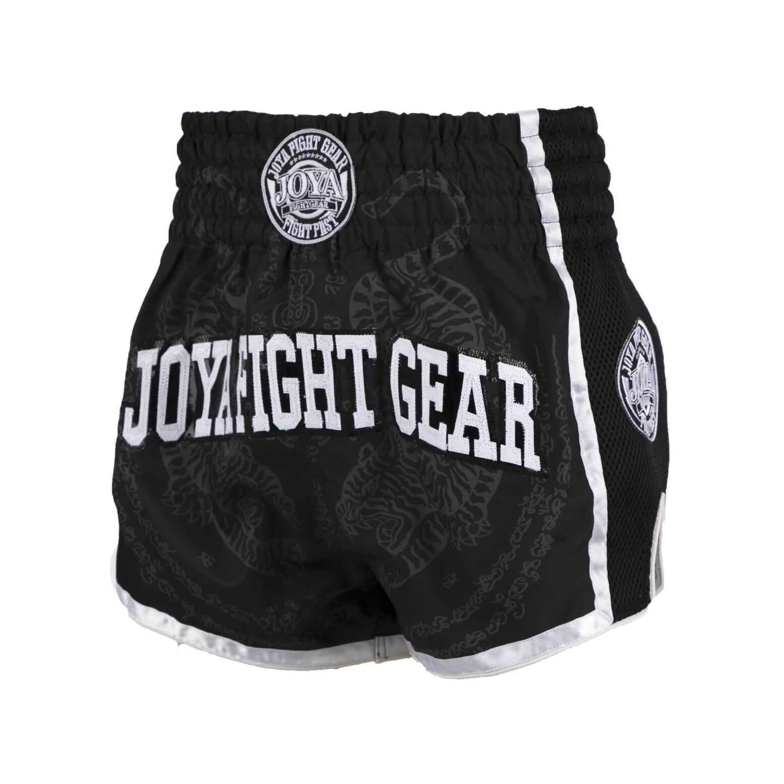 Joya Sak Yant Tiger Muay Thai Short - Zwart