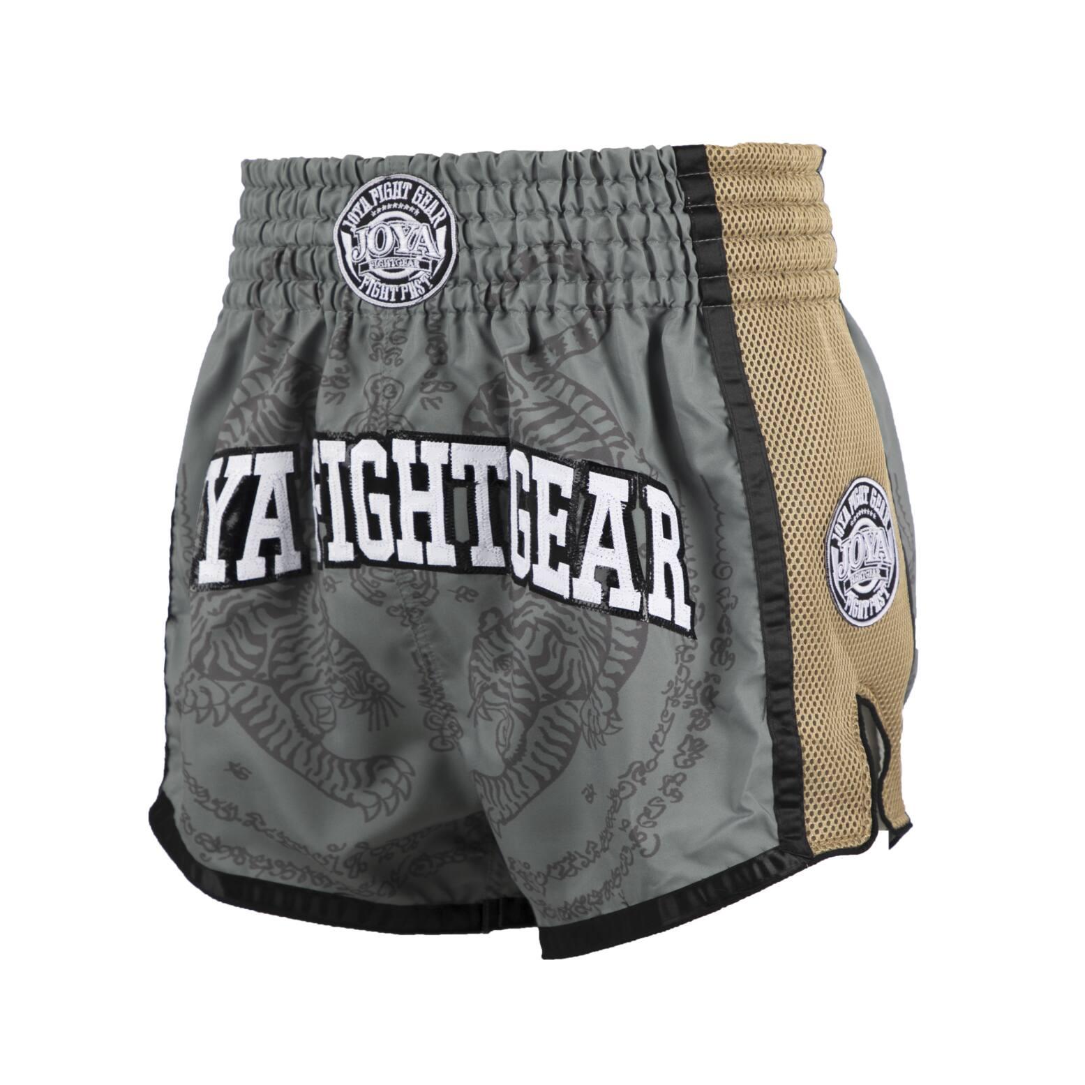 Joya Sak Yant Tiger Muay Thai Short - Groen